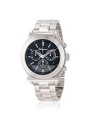 Salvatore Ferragamo Men's F78LCQ9909 S099 Ferragamo 1898 Silver/Black Stainless Steel Watch