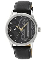 Fastrack NC3001SL08 Black Dial Men's Watch