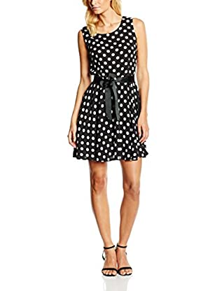 William de Faye Vestido Robe Col Rond Pois