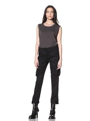 Ann Demeulemeester Women's Lightweight Cargo Trousers (Black)