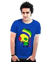 Incynk Men's T-Shirt - MSS130 (Blue)
