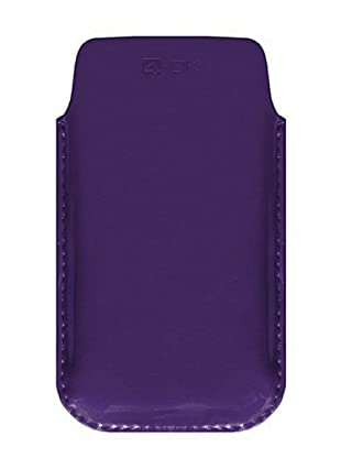 4-OK by Blautel Case für iPhone 4/4S/Smartphones (Violett)