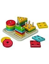 Plan Toys Preschool Sorting Board