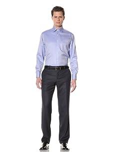 GF Ferré Men's Twill Dress Shirt (Medium blue)