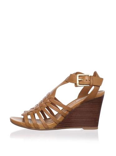 Geox Women's Glicine Wedge Sandal (Camel)