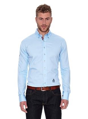 CLK Camisa Woven (Azul Cielo)