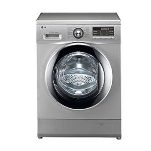 Lg F1296QD24 Washing Machine-Silver