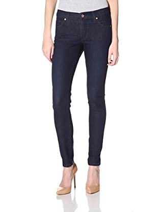 James Jeans Women's Twiggy Corona 5-Pocket Skinny Jean (Dark Blue)