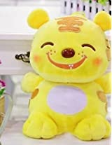 Andp Adorable Large Sized Smiling Face Plush Cartoon Tiger Toy