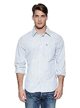 Abercrombie & Fitch Hemd Classic (blau / gelb)