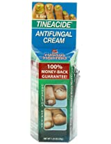 Tineacide Antifungal Cream, 1.25 Ounce Bottle