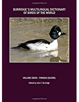 Burridge's Multilingual Dictionary of Birds of the World: v. 37