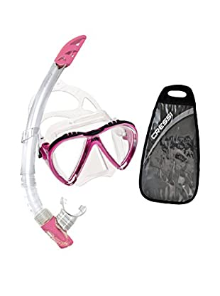 Cressi Set Taucherbrille + Tubo Schnorchel Lince & Gamma
