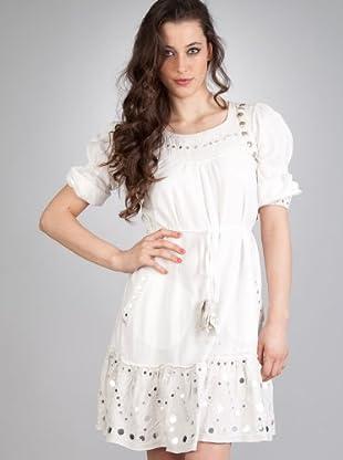 Flamenco Vestido Aladín (blanco)