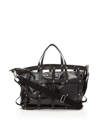 GEAR3 BY SAEN Men's Clutch/Messenger Bag (Black)
