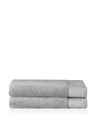 Schlossberg Set of 2 Interio Bath Towels, Stone