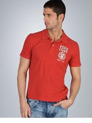 Pepe Jeans London Poloshirt Roma rot L