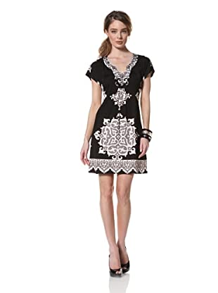 Hale Bob Women's Short Sleeve Dress