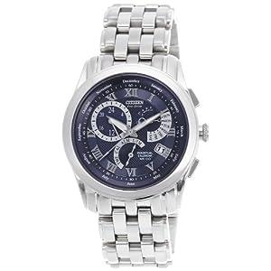 Citizen Eco-Drive Analog Blue Dial Men's Watch - BL8001-51L