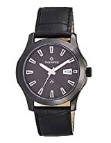 Maxima Attivo Analog Black Dial Men's Watch - 25121LMGB