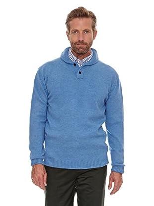 Cortefiel Jersey Smocking (Azul)