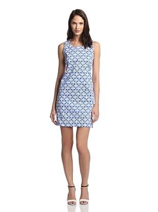 JB by Julie Brown Women's Leah Shift Dress (Blue Woodstock)