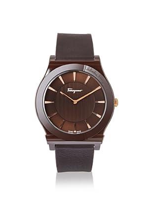 Salvatore Ferragamo Men's FQ3030013 1898 Brown Leather Watch