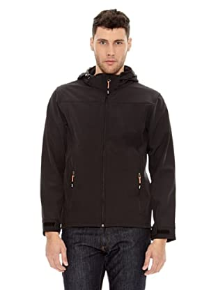 Elevate Chaqueta Softshell Langley (Negro)