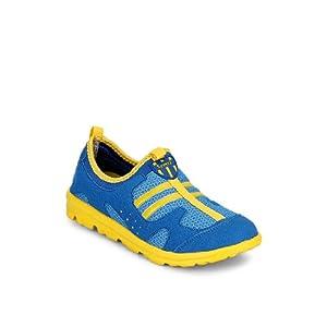 STEPpings Women's Blue & Yellow Sneakers