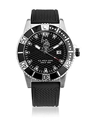 US Polo Association Uhr mit Miyota Uhrwerk Man USP4391BK 44 mm