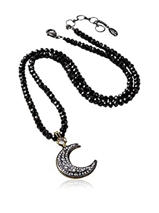 Amrita Singh Collar Crescent Moon Beaded