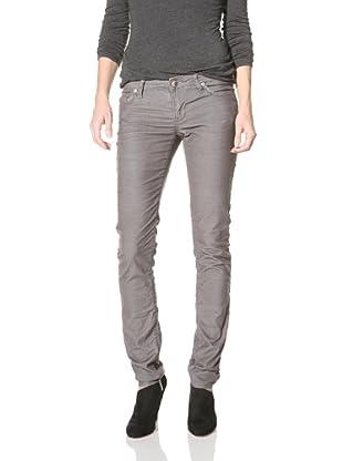 Stitch's Women's Fox Skinny Corduroy Pants (Sky)