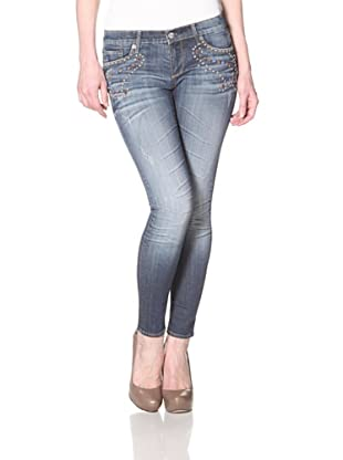 Driftwood Women's Skinny Jean (Medium Wash)