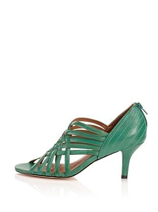 Corso Como Women's Colly Open-Toe Pump (Emerald)