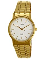 Timex Classics Analog White Dial Men's Watch - A303
