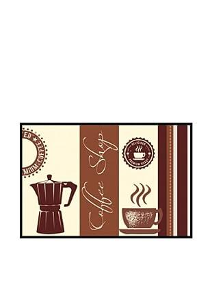 PlatinArt Alfombra Coffee Shop