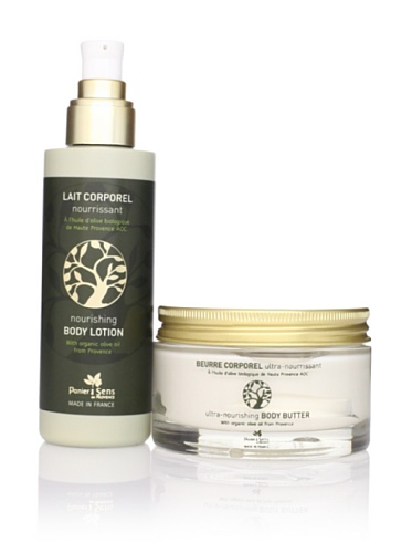 Panier des Sens Organic Olive Oil Body Lotion and Body Butter