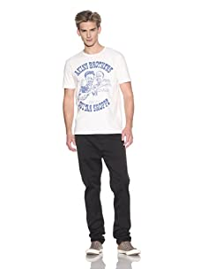 Eight Penny Nails Men's Akins S/S Crew Neck Tee (Off white)