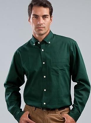 Cortefiel Camisa Bolsillo (Verde)