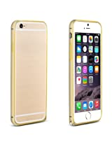 Luxury Arc Edge Dual Gold line Bumper for IPHONE 6 by Fortune
