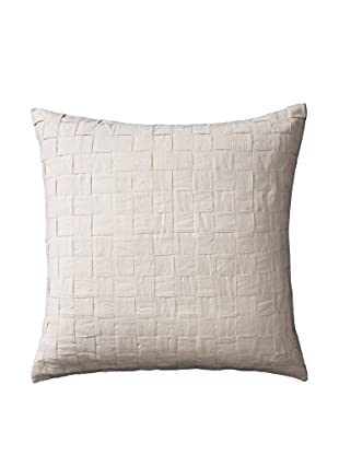 Vera Wang Basketweave Texture Euro Sham, Natural