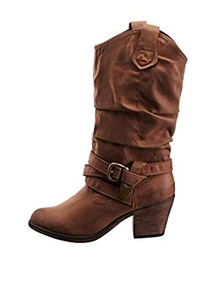 Rocket Dog Botas Sidestep Western (Marrón)