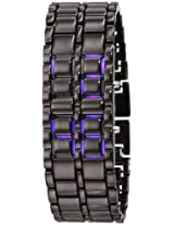 GGI International MLEDLAVABB 25 MM  Stainless Steel Black Watch Bracelet.
