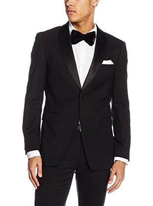 ESPRIT Camisa Hombre  Negro ES 52 (DE 102)