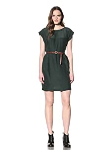 Steven Alan Women's Hannah Dress (Forest green)