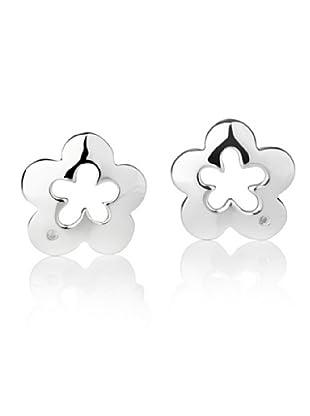 Secret Diamonds 60250011 - Pendientes de mujer de plata de ley con 2 diamantes