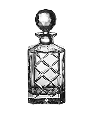Fitz and Floyd Tufted Crystal Square 26-Oz. Decanter