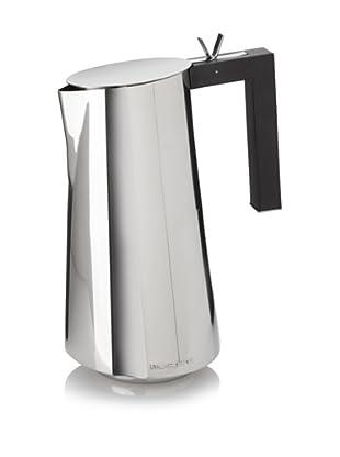 Casa Bugatti Via Roma Stove Top 6 Cup Espresso Maker, Stainless
