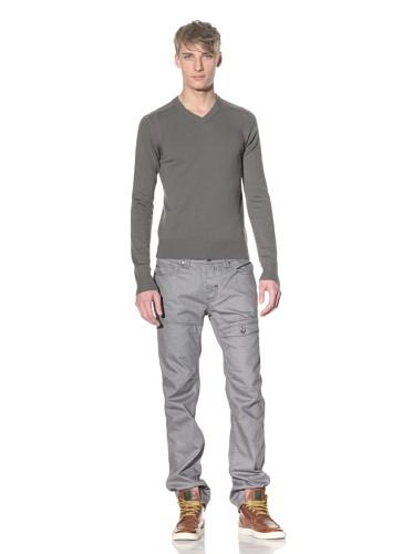 i.am Men's V-Neck Sweater (Sage)