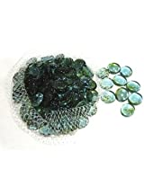 Glass drops for fish aquarium -Light Green
